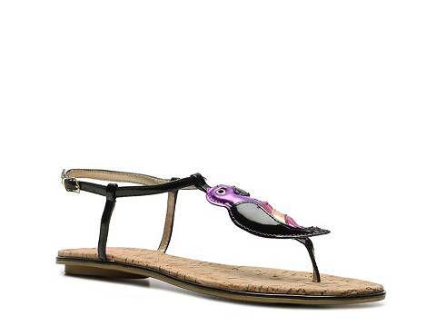 Circus by Sam Edelman Sahara Flat Sandal Florals & Pastels Spring Trend Focus Women's Shoes - DSW