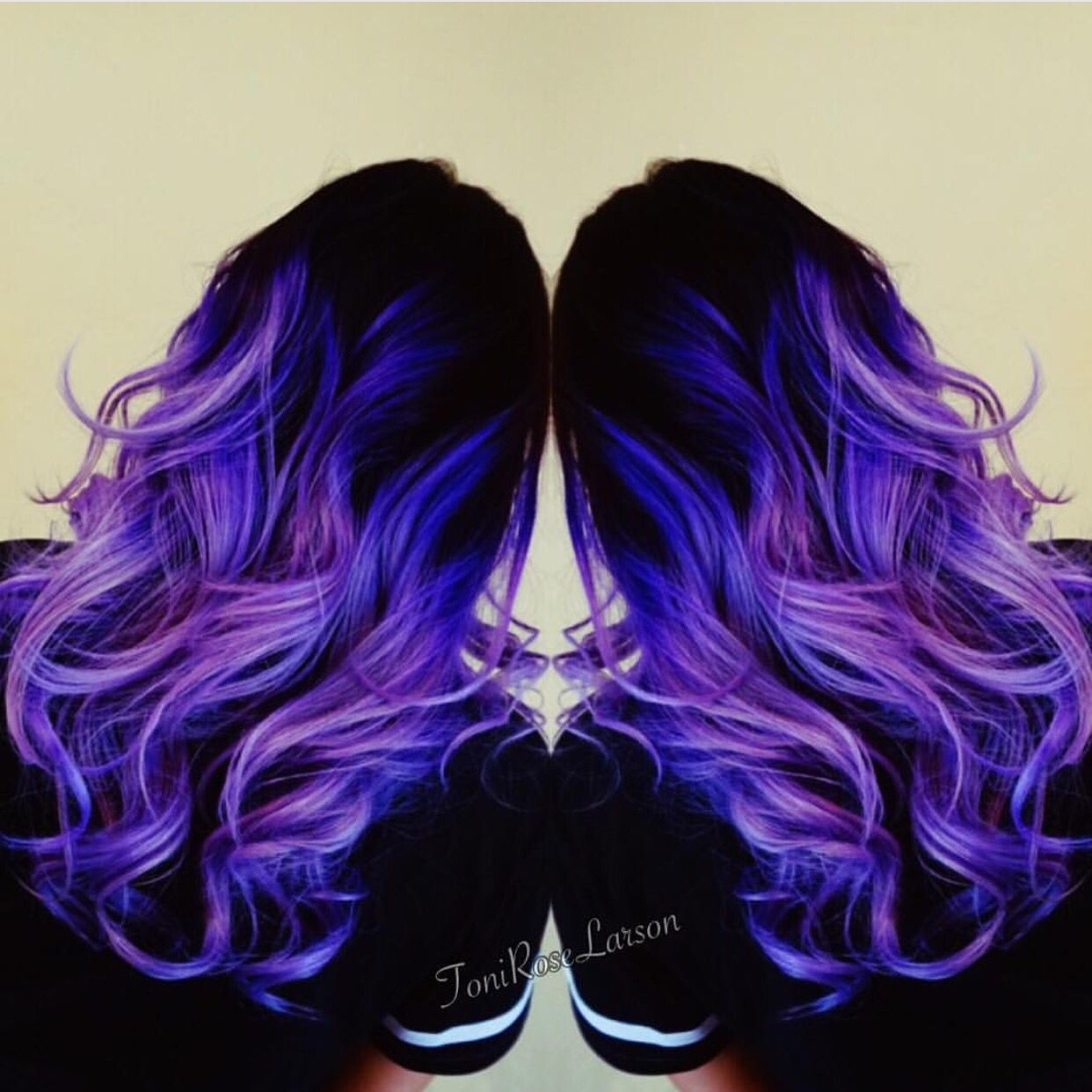 Violet Hair Color and purple too by Toni Rose Larson ...