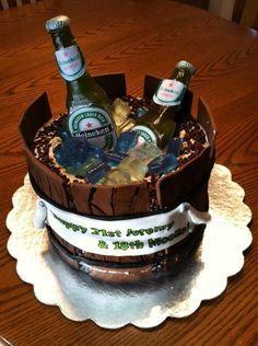 The Cake I Made For My Boyfriend S 21st Birthday Bottles