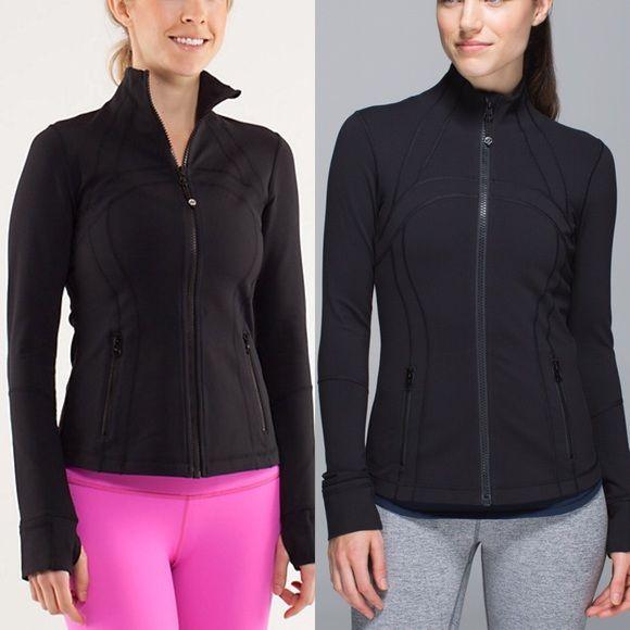Black Define Jacket Lululemon Worn less than 3 times and in - define excellent