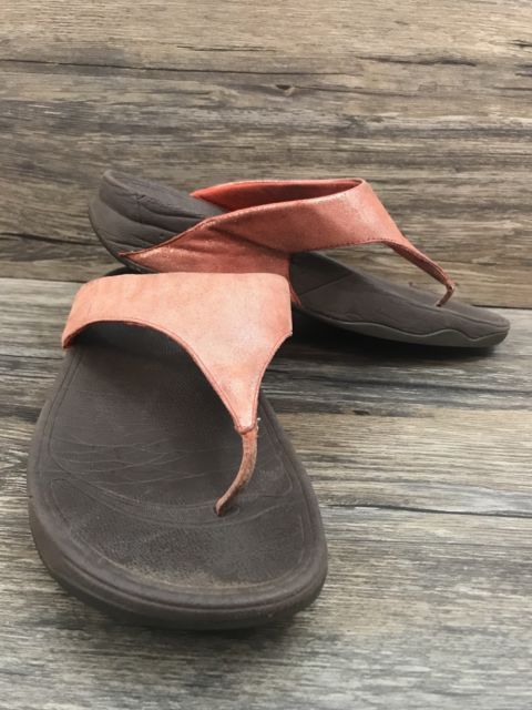 Fitflop Thong Sandal Size 7 Womens 238. Pink ...