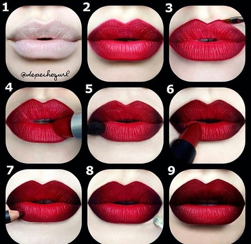 Cool #vampy, beautiful - cool, lip - red