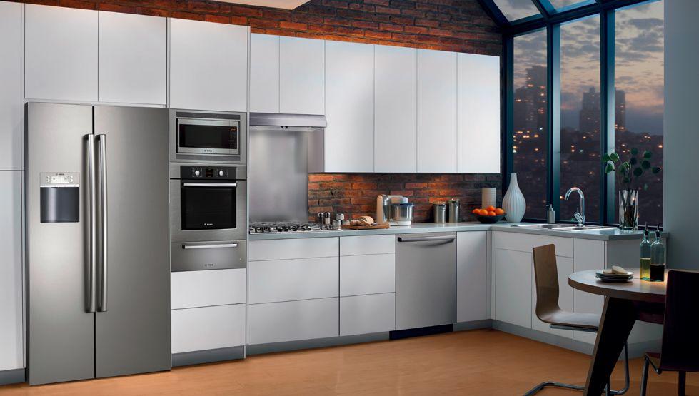 The Uptown Studio Kitchen | Bosch Home Appliances | cocina ...