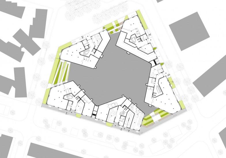 Sozialer Wohnbau 170 We Alleswirdgut Architektur Bau Sozial