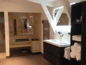 sauna badkamer | Slaapkamer nieuwe huis | Pinterest | Saunas