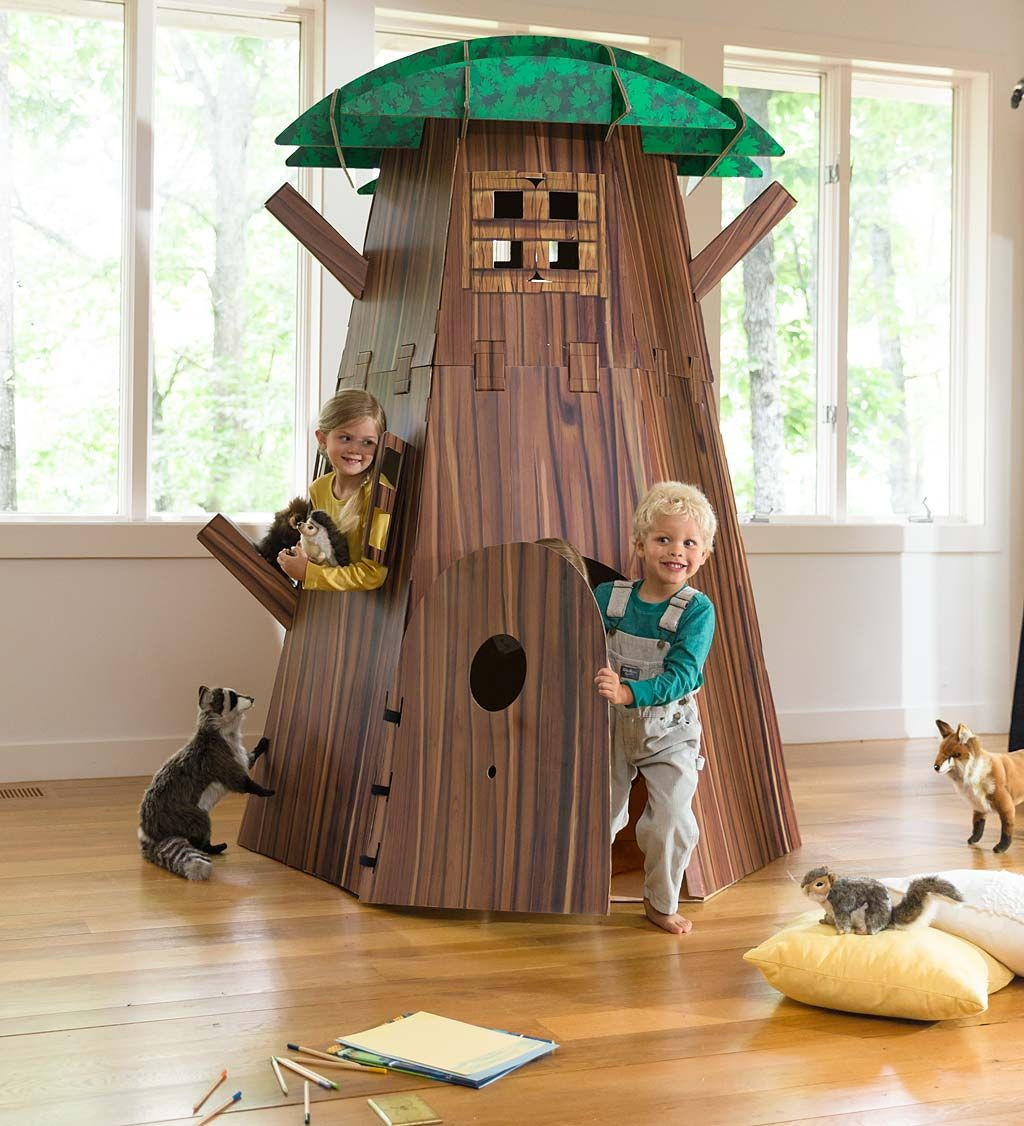 Outdoor Forts, Indoor Trees, Indoor Playroom