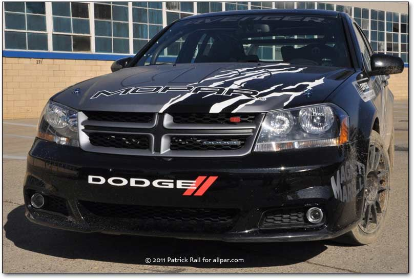 Dodge Avenger Rally Sedan 2011 Concept Car Dodge Avenger Dodge Vehicles Dodge