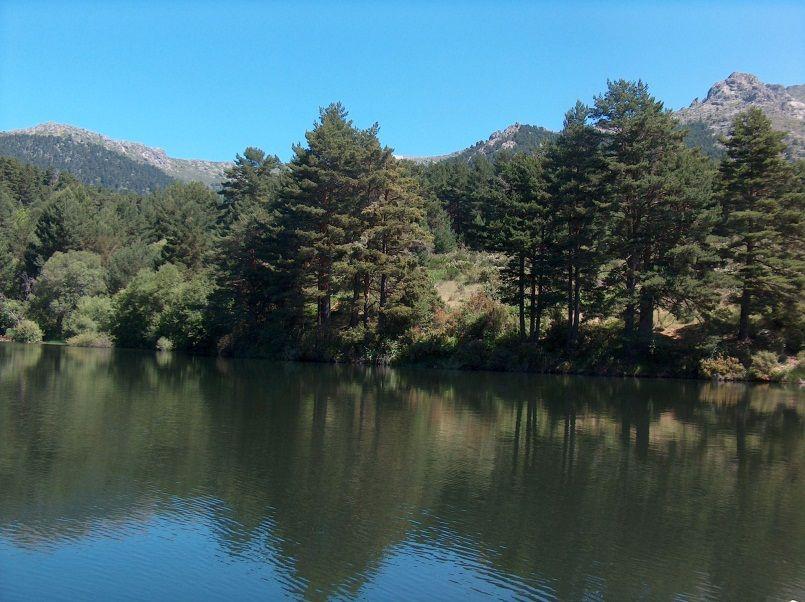 Paisaje de la Sierra Madrileña
