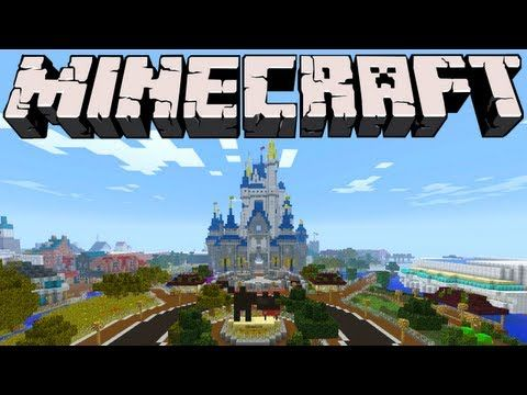 Minecraft Video 2 Disney World | MINECRAFT | Disney minecraft ... on