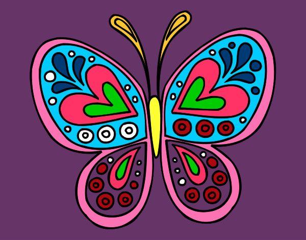 Imagenes De Mariposas De Colores: Dibujos Mariposas De Colores. Interesting Mariposa