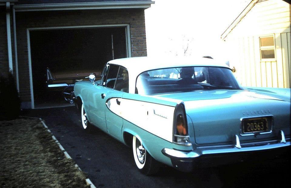 '58 Chrysler Windsor.