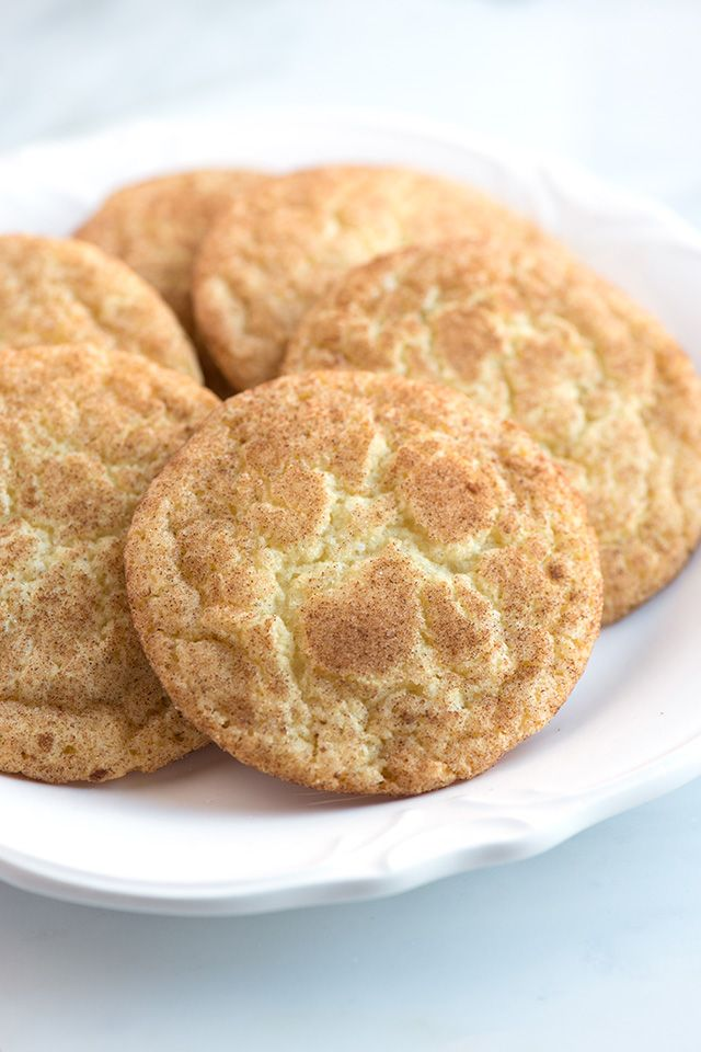 Snickerdoodles Recipe With Chewy Middles! One Of Our