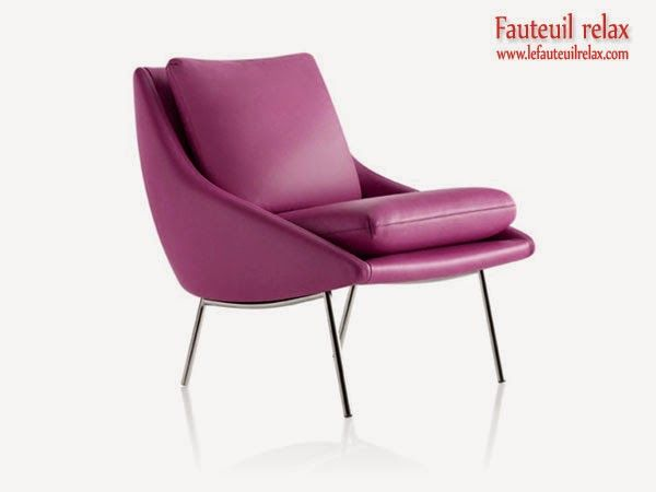 Fauteuil contemporain 800 en cuir