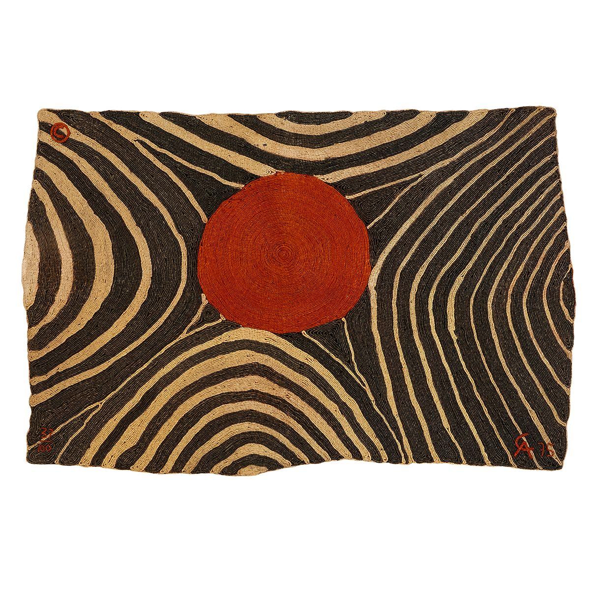 After Alexander Calder 1898 1976 Zebra Tapestry 56 X 83 With