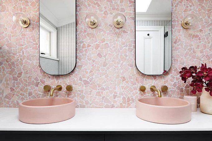 #Atención Los lavabos sobre encimera y lavabos de colores ...