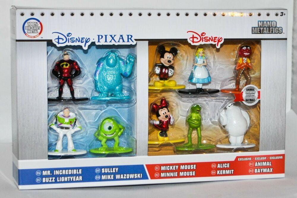Disney-Animal-Nano metalfigs-New in package