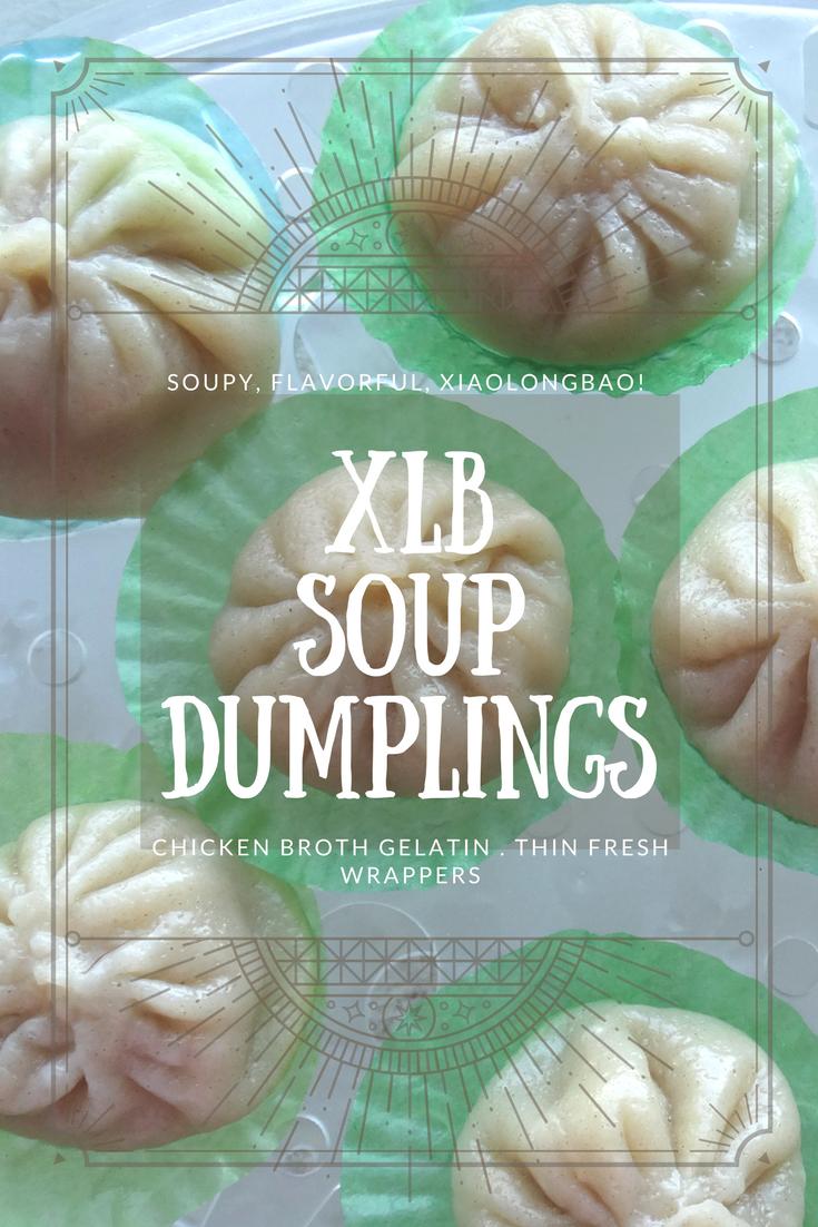 XLB, Xiao Long Bao, Soup Dumpling, Dim Sum (Chinese) 小笼包. On a ...