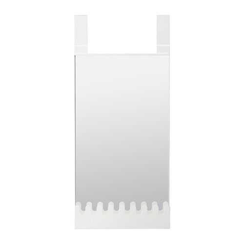 IKEA   GARNES, Over The Door Mirror/hooks U0026 Shelf , Out Of Wall Space?  Donu0027t Worry, This Mirror Hangs On Your Door.You Can Hang Anything From  Coats To ...