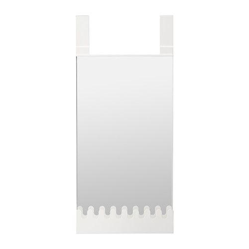GARNES Dørspejl med kroge/hylder  - IKEA