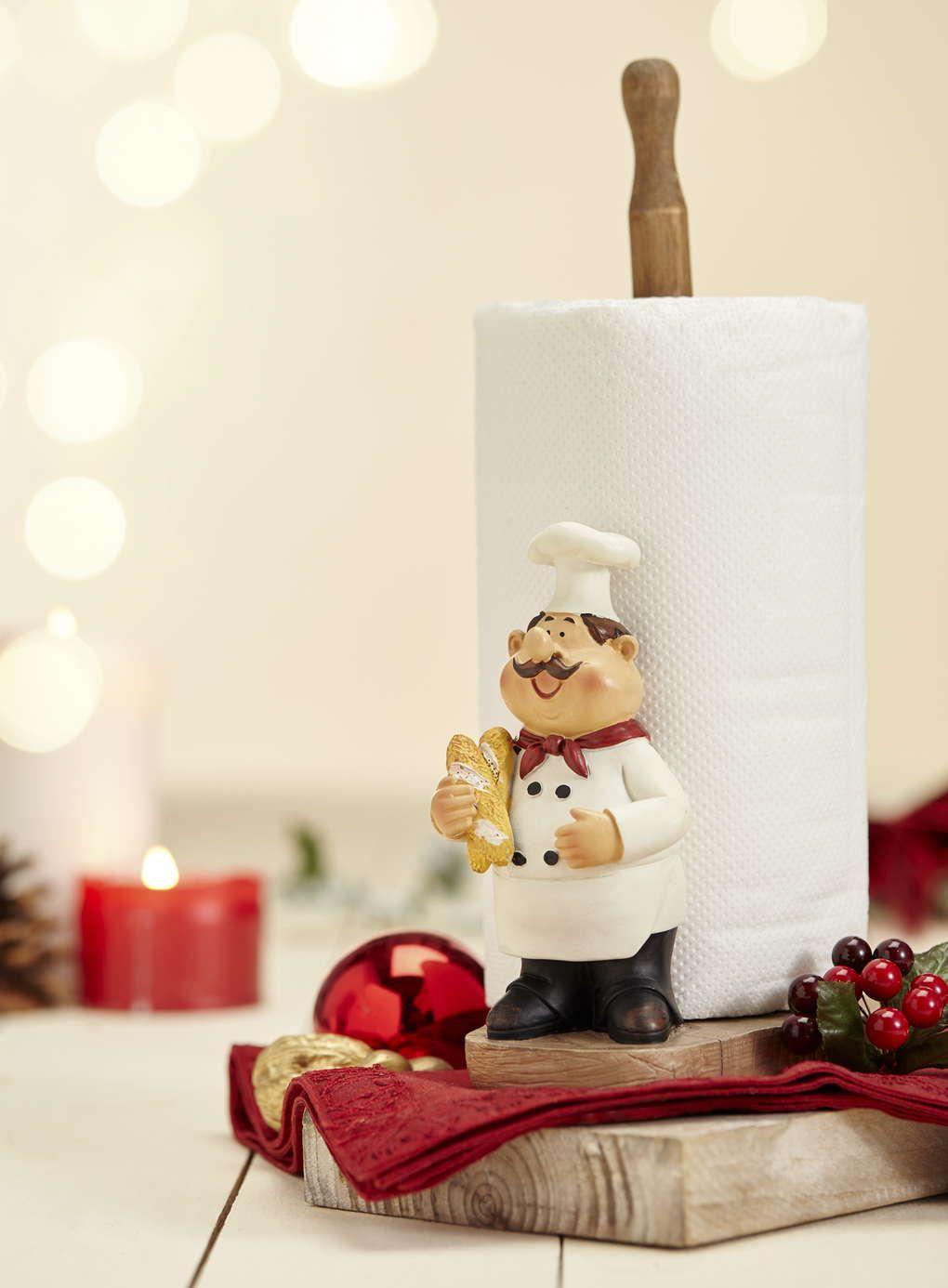 Monsieur Gastro Kitchen Roll Holder | Home | Pinterest | Clay, Clay ...