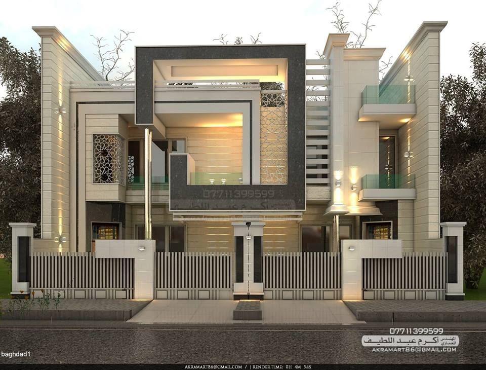Image Result For واجهات مباني ادارية صغيرة Modern House Design House Roof Design Modern House