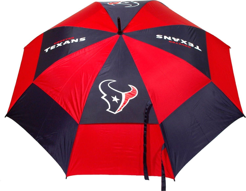 "Team Golf Houston Texans 62"" Double Canopy Umbrella #smallumbrella"