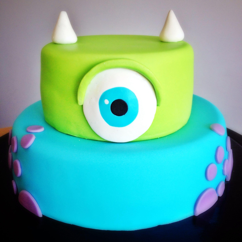 Strange Monsters University Cake Monster Inc Birthday Monster Inc Cakes Personalised Birthday Cards Epsylily Jamesorg