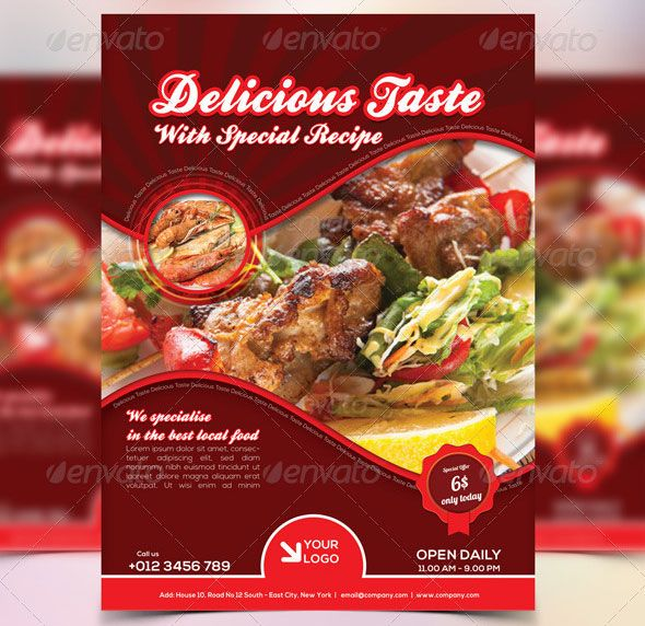 E Food Brochures Templates  Google Search  Brouchers