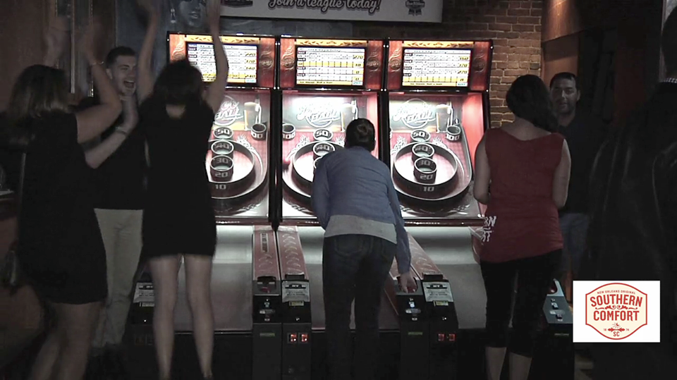 Did you know we have skeeball?! 3rd floor. Join the league on Wednesday and Thursdays.