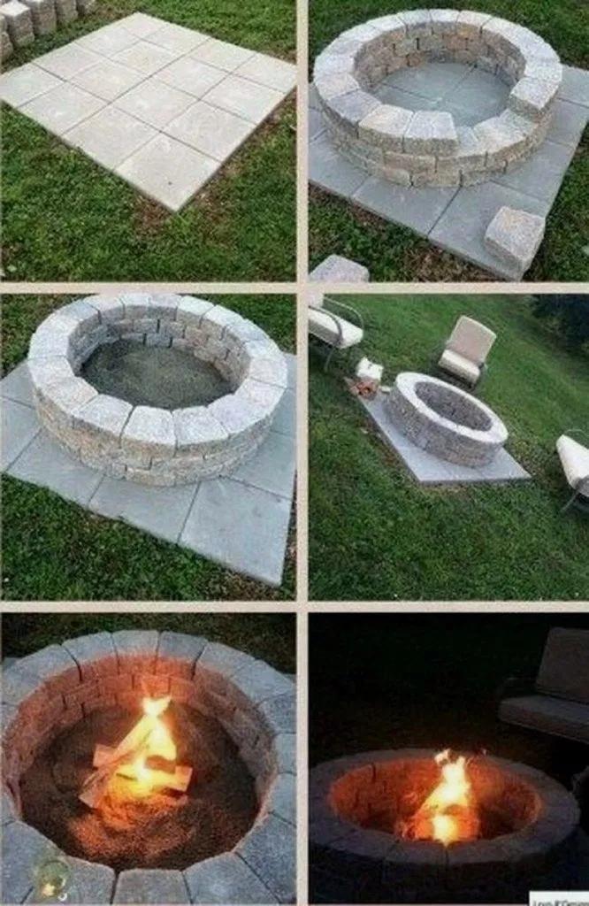 33 Creative Fire Pit For Your Backyard Landscaping Ideas 12 Backyard Fire Fire Pit Landscaping Fire Pit Backyard