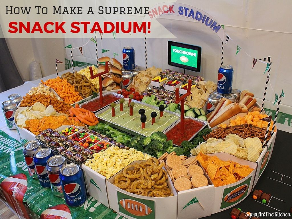 super bowl party food how to make a supreme snack stadium ultimate diy 31187