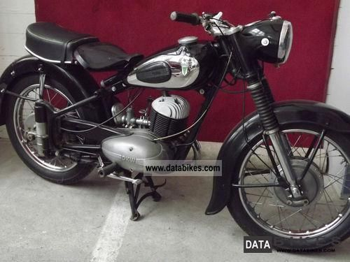 1954 Dkw Rt 250 Old Bikes Classic Bikes Classic Motorcycles