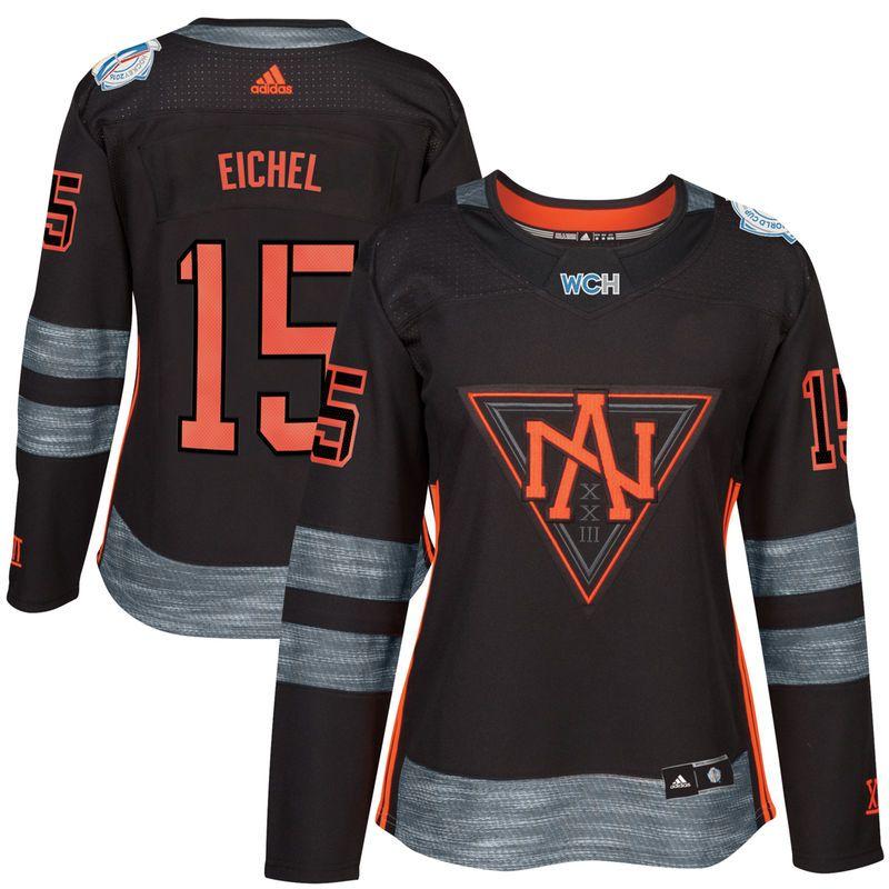 online retailer cf1a8 27559 Jack Eichel North America Hockey adidas Women's World Cup of ...