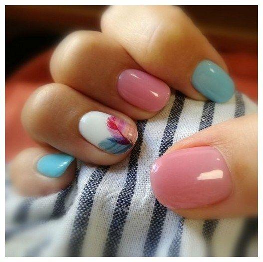 30 Super Cute Summer Nail Color Ideas Year 2019 00090 Armaweb07 Nail Designs In 2019