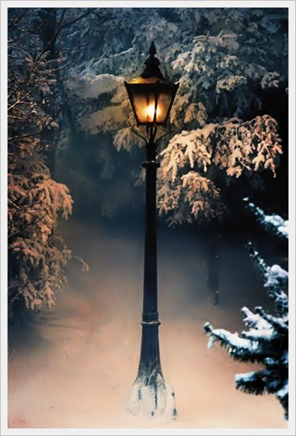 LION WITCh wardrobe LAMP POST - Google Search | POSTCARDS FOR THE ...