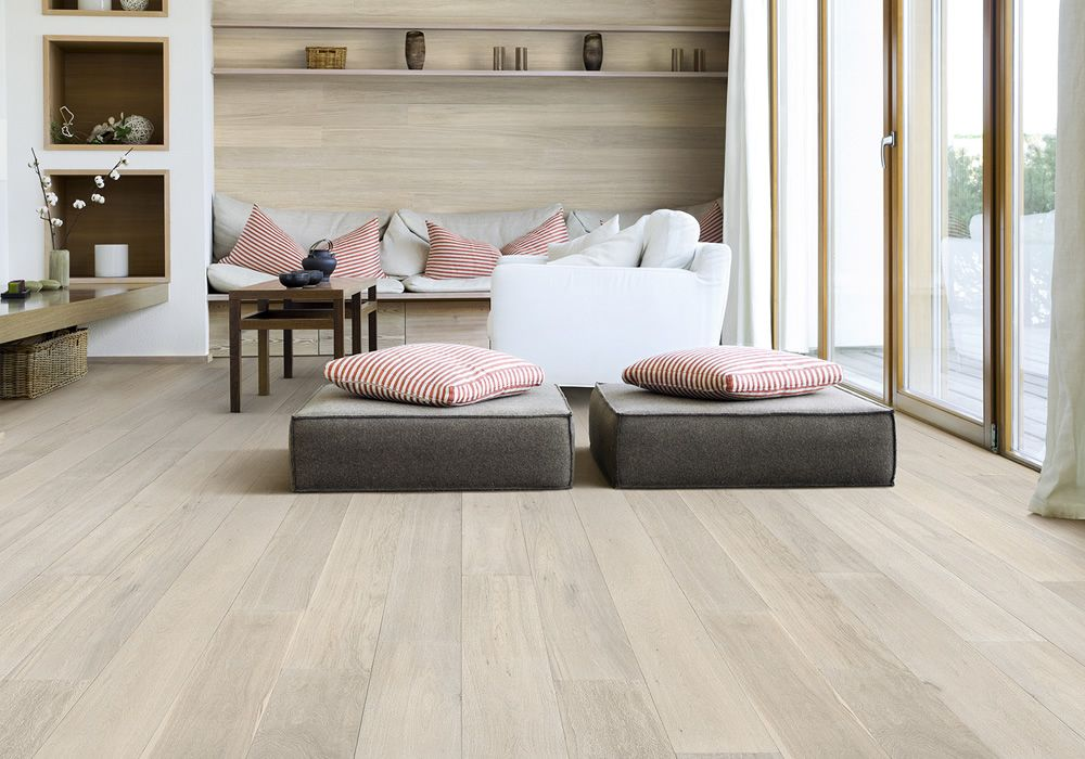 Tongue n Groove Timber Flooring - Colour Range Bistre limed