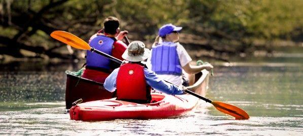 Kayaking Huntington Beach State Park