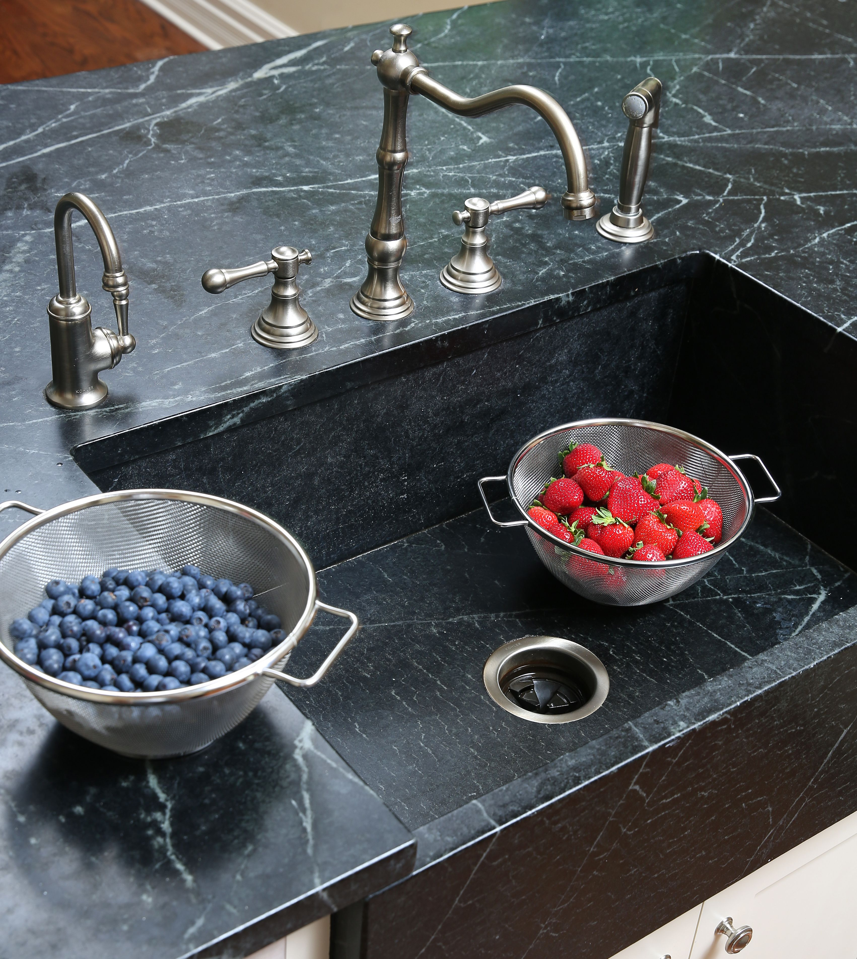 How To Reset Your Garbage Disposal With Images Garbage Disposal Double Bowl Sink