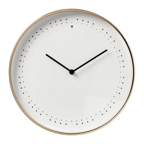 Panorera Wall Clock Ikea In 2020 Wall Clock Ikea Wall Clock Clock