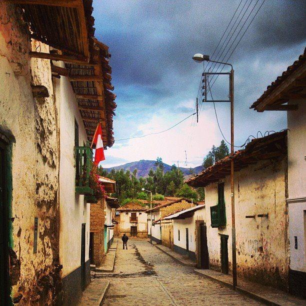 Calles De Huasta Ancash Perú Places Road Alley