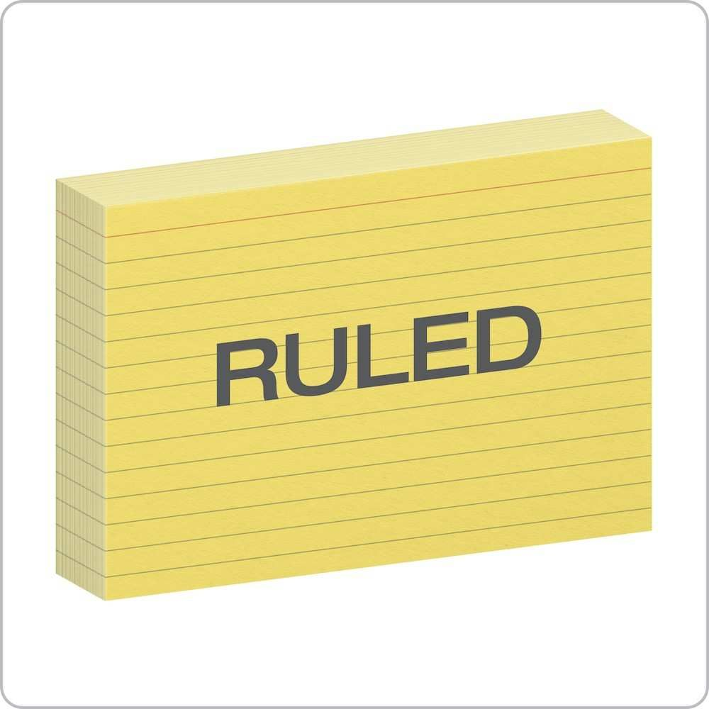 12 free 4x6 ruled index card template in word with 4x6