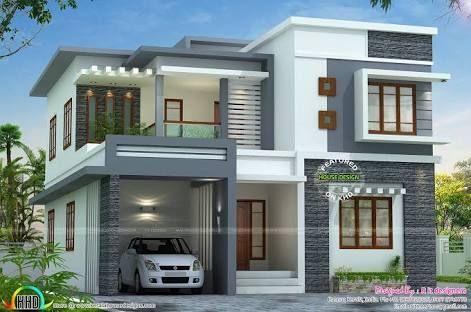 Image Result For Spanish Style Villas Kerala House Design Two Story House Design Duplex House Design