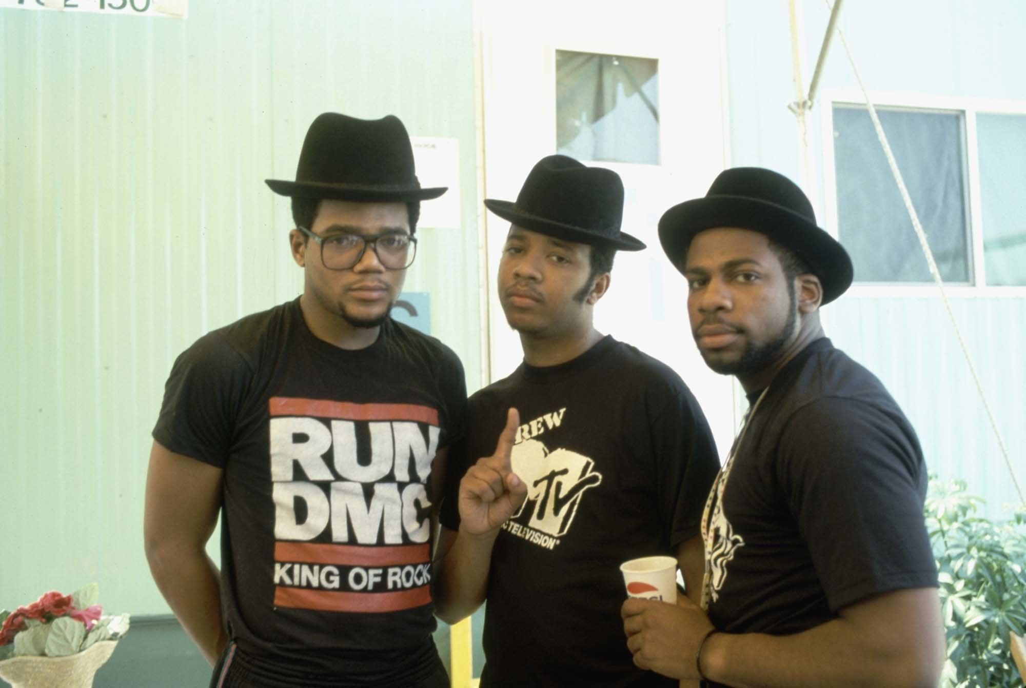 4ed8cd39d72 Who  Run DMC Signature hat  They created a new sound while wearing retro  porkpie hats.