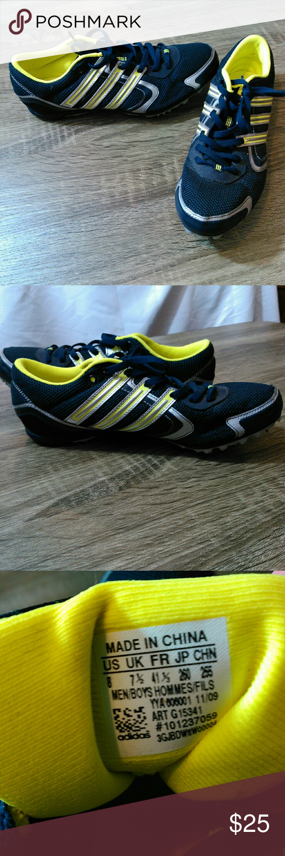 Adidas Track And Field Spike Shoes My Posh Picks Pinterest