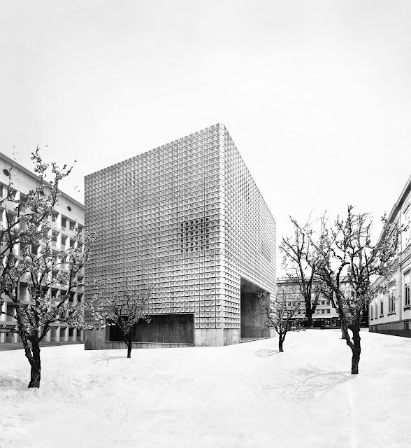 Extension of the Bündner Kunstmuseum, Chur, Switzerland, 2012 - Estudio Barozzi Veiga