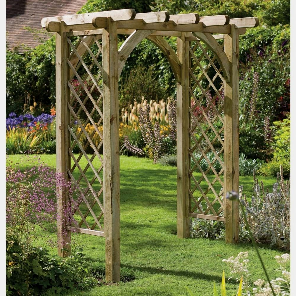 50 Beautiful Garden Arbor Ideas To Build Yourself To Complete Your