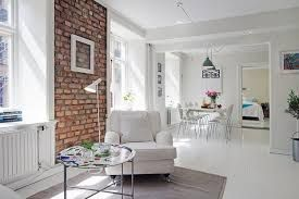 60 Elegant, Modern And Classy Interiors With Brick Walls Exposed Tags:  White Brick Wall