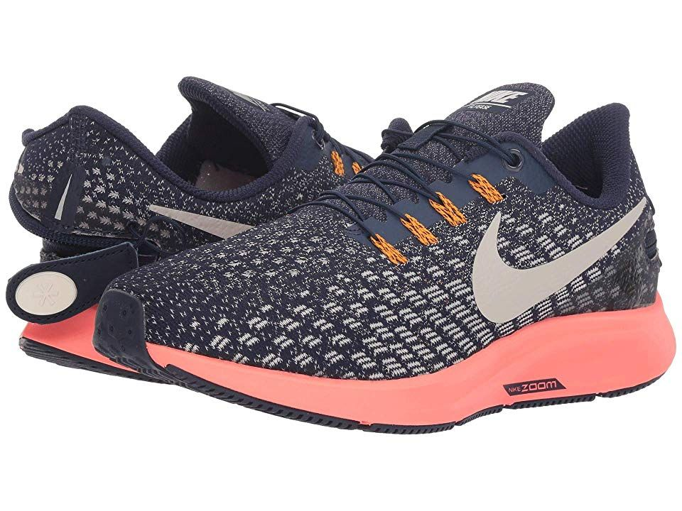 78669780a60 Nike Air Zoom Pegasus 35 FlyEase (Blackened Blue Moon Particle) Women s  Running Shoes. Don t let anything stop you with the help of the easy-on and  easy-off ...