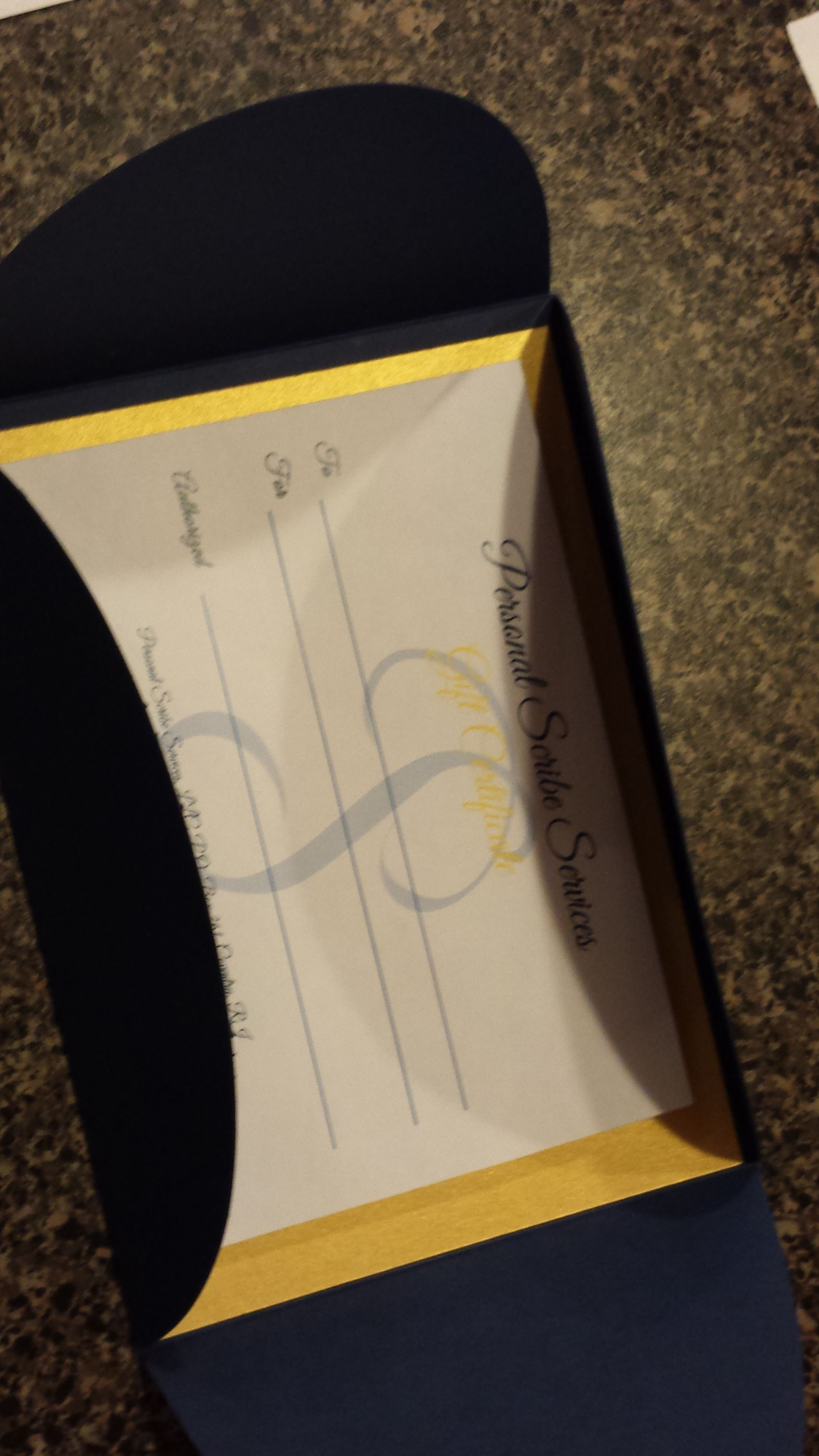 newly designed gift certificates in any denomination now available for purchase contact bethpersonalscribeservices