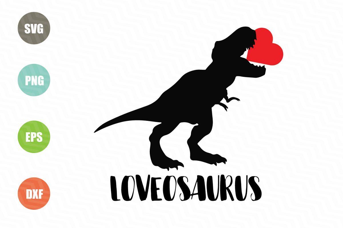 Download Dinosaur Svg, Valentine Svg File | Dinosaur valentines ...
